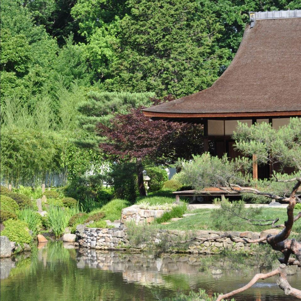Shofuso house and garden